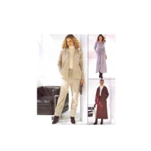 McCalls 2350 Misses Jacket Pants Skirt Dress Sewing Pattern Size 4 - 6