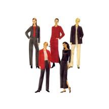 Misses Jacket Pants Skirt McCalls 2432 Sewing Pattern Size 10 - 12 - 14