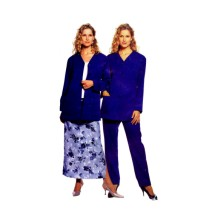 Misses Cardigan Pants Skirt McCalls 2461 Sewing Pattern Size 8 - 10 - 12 - 14