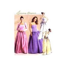 Misses Shrug Tops Skirt Evening Elegance McCalls 2624 Sewing Pattern Size 4 - 6 - 8