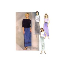 Misses Pull-On Skirts Creative Clothing McCalls 2682 Sewing Pattern Full Figure Size 16 - 18 - 20 - 22