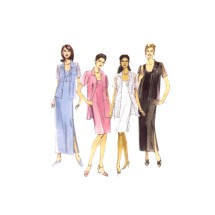 Misses Shirt and Dress in Two Lengths McCalls 2764 Sewing Pattern Size 12 - 14 - 16 Bust 34 - 36 - 38