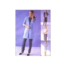 Misses Unlined Jacket Top Pants Skirt Belt McCalls 2872 Sewing Pattern Size 10 - 12 - 14