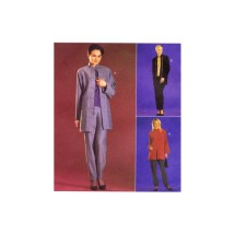 Misses Unlined Jacket Top Pull-On Pants McCalls 2906 Sewing Pattern Size 4 - 6
