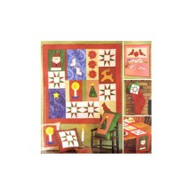 Christmas Quilt Wallhanging Table Runner Stocking Pillows Cardholder An American Tradition Mccalls 2942 Sewing Pattern