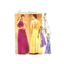 Misses Formal Evening Tops Skirt Evening Elegance McCalls 3032 Sewing Pattern Size 8 - 10 - 12