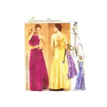 Misses Formal Evening Tops Skirt Evening Elegance McCalls 3032 Sewing Pattern Size 8 - 10 - 12