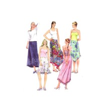 Misses Skirts McCalls 3121 Sewing Pattern Size 4 - 6 - 8