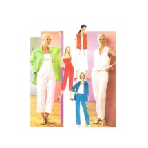 Misses Shirt-Jacket Blouson Top Camisole Pants McCalls 3236 Sewing Pattern Size 6 - 8 - 10