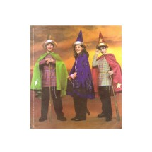 Boys and Girls Wizard Costumes McCalls 3324 Sewing Pattern Size 7 - 8 - 10 - 12 - 14 - 16