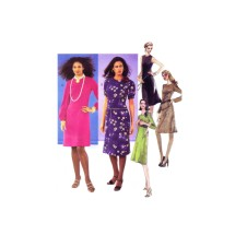Misses Jewel Neck Dress McCalls 3347 Sewing Pattern Size 12 - 14 - 16 - 18