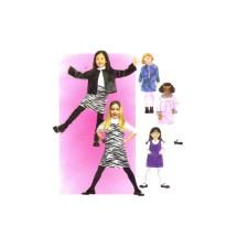 Girls Jumper Jacket Skirt McCalls 3358 Sewing Pattern Size 3 - 4 - 5