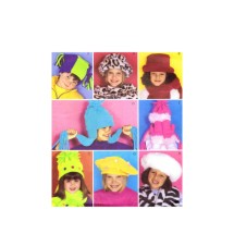 Girls Hats Mittens Scarf Fashion Accessories McCalls 3404 Sewing Pattern