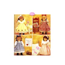 """18"""" Gotz Doll Clothes and Craft Projects McCalls P287 Sewing Pattern"""