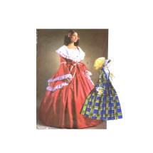 Southern Belle Civil War Antebellum Dress Gone with the Wind Costumes McCalls 4415 Sewing Pattern Size 6 - 8 - 10 - 12