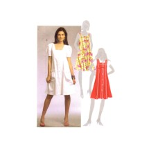 Misses Jumper and Dresses McCalls 5656 Sewing Pattern Full Figure Size 16 - 18 - 20 - 22 - 24
