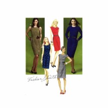 Misses Sheath Dress McCalls 5927 Sewing Pattern Full Figure Size 14 - 16 - 18 - 20