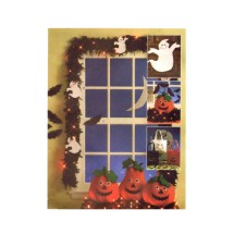 Halloween Ghosts Bats Treat Bags Greeter Ornaments Pumpkins McCalls 5949 Sewing Pattern
