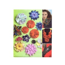 Fabric Flowers Decorate Fashion Accessories McCalls 6047 Sewing Pattern
