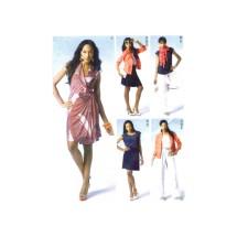 Misses Jacket Top Dress Skirt Pants McCalls 6519 Sewing Pattern Size 14 - 16 - 18 - 20 - 22