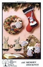 Buckeye Tree 107 Sewing Pattern Stocking & Bunny
