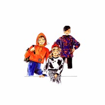 Girls Hooded Sweatshirt Neue Mode 55379 Sewing Pattern Size 8 - 10 - 12 - 14 - 16
