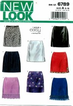 New Look 6789 Easy 1 Hour Skirts Size 6 - 16