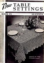 New Table Settings Crochet Book No. 95