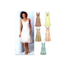 Misses Dress New Look 6244 Sewing Pattern Size 8 - 10 - 12 - 14 -16 - 18