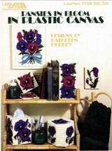 Leisure Arts Pansies in Bloom in Plastic Canvas Leaflet