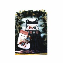 Girls Christmas Jumper Stocking Angel Doll Peace Creek Collections Sewing Pattern Size 3 thru 14