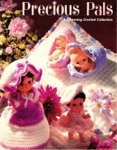Precious Pals A Charming Doll Collection Crochet Book