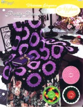 Pretty Parasols Afghan Crochet Pattern The Needlecraft Shop
