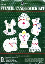 Quilted Stencil / Candlewick Ornament Kit