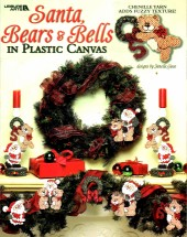Santa Bears & Bells in Plastic Canvas Book