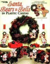Santa Bears & Bells in Plastic Canvas Book