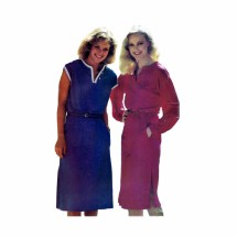 1980s Misses Loose Fitting Dress See & Sew 6943 Vintage Sewing Pattern Size 8 - 10 - 12
