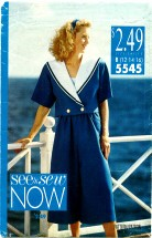 See & Sew 5545 Jacket Split Skirt Tank Top Size 12 - 16