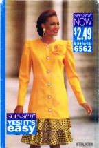 See & Sew 6562 Sewing Pattern Womens Tunic & Skirt Size 14 - 18 Bust 36 - 40