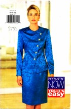 See & Sew 3733 Top and Skirt Size 8 - 12 - Bust 31 1/2 - 34