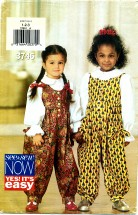 See & Sew 3746 Jumpsuit & Blouse Size 1 - 3