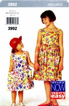 See & Sew 3992 Pullover Dress Size 7 - 14