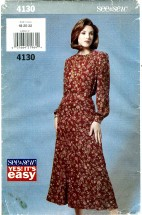 See & Sew 4130 Misses Blouse & Skirt Size 18 - 22