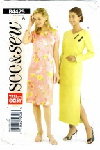 See & Sew 4425 Misses Dress Size 6 - 10
