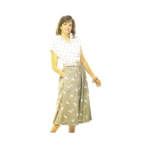 Misses Loose Fitting Top and Flared Skirt See & Sew 5383 Vintage Sewing Pattern Size 14 - 16 - 18