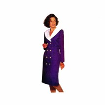 1990s Misses Double Breasted Dress See & Sew 5296 Vintage Sewing Pattern Size 12 - 14 - 16 Bust 34 - 36 - 38