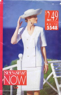 Misses Top and Skirt See & Sew 5548 Sewing Pattern Size 6 - 8 - 10 - 12 - 14