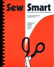 Sew Smart with Wovens, Knits and Ultra Suede Fabric Signed by Author Clotilde