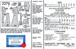 Simplicity 2276