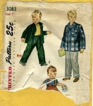 Simplicity 3083 Slacks & Jacket Size 4